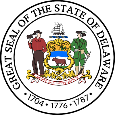 Link to the State of Delaware